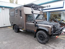 Land Rover Defender Camper Expedition vehicle